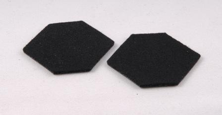 Lapel Patch Black Pair