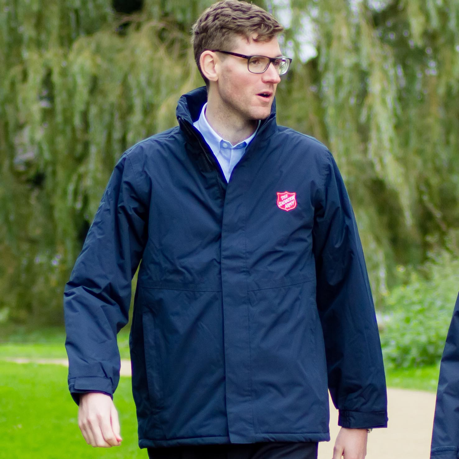 Men's Regatta Storm Jacket With Red Shield