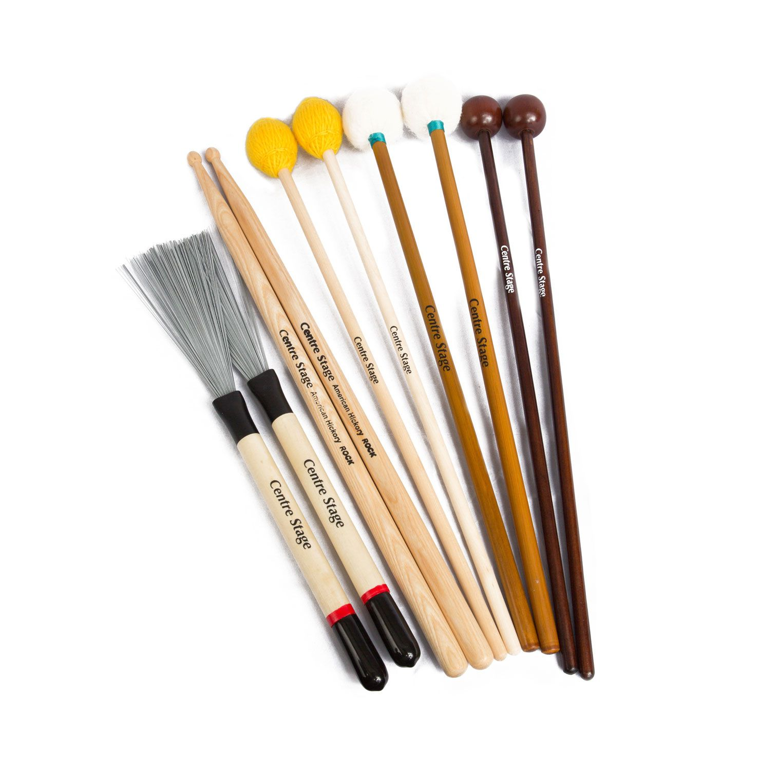 Mixed Set of Percussion Mallets