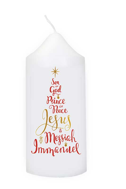 Name of Jesus Candle