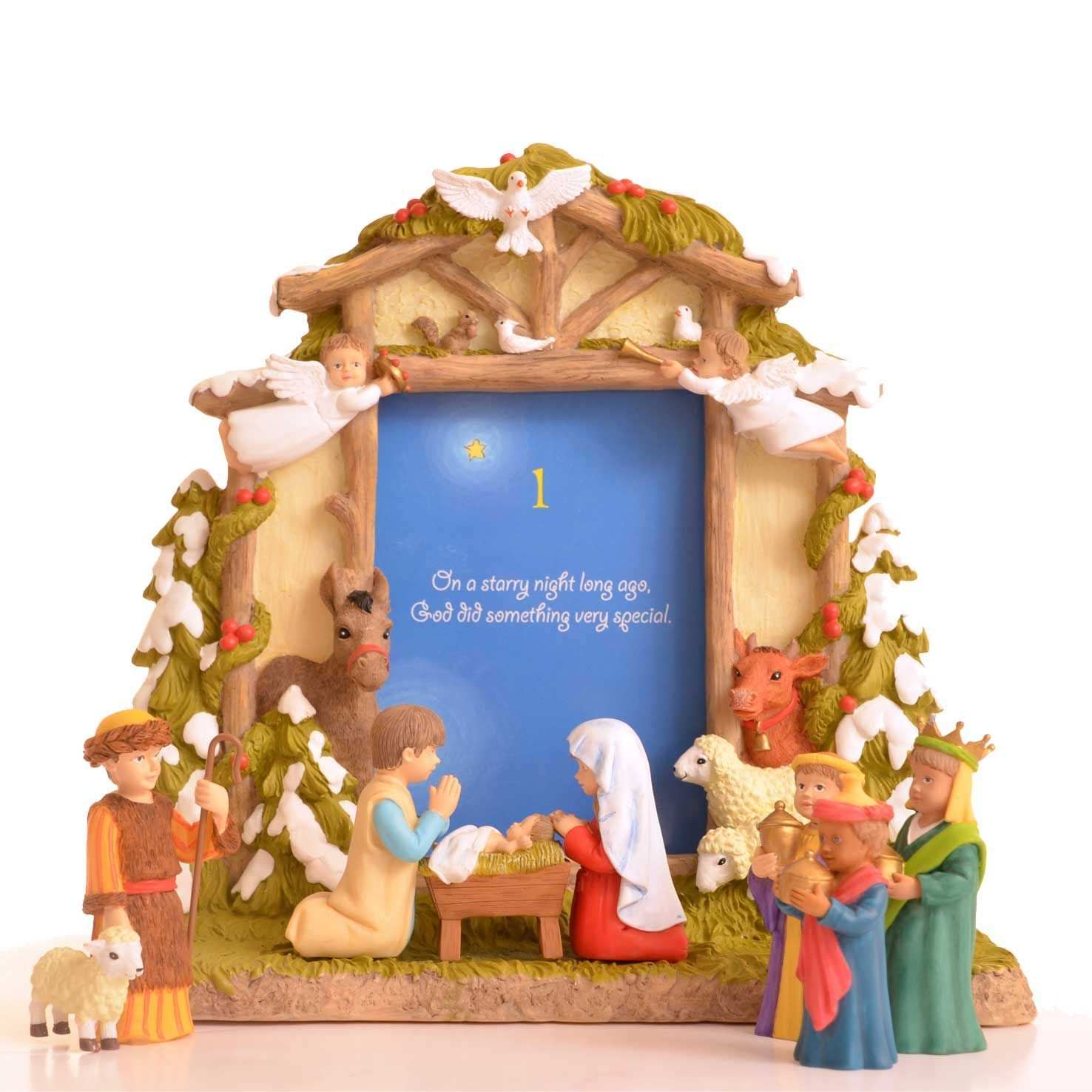 Nativity Set with Daily Advent Calender