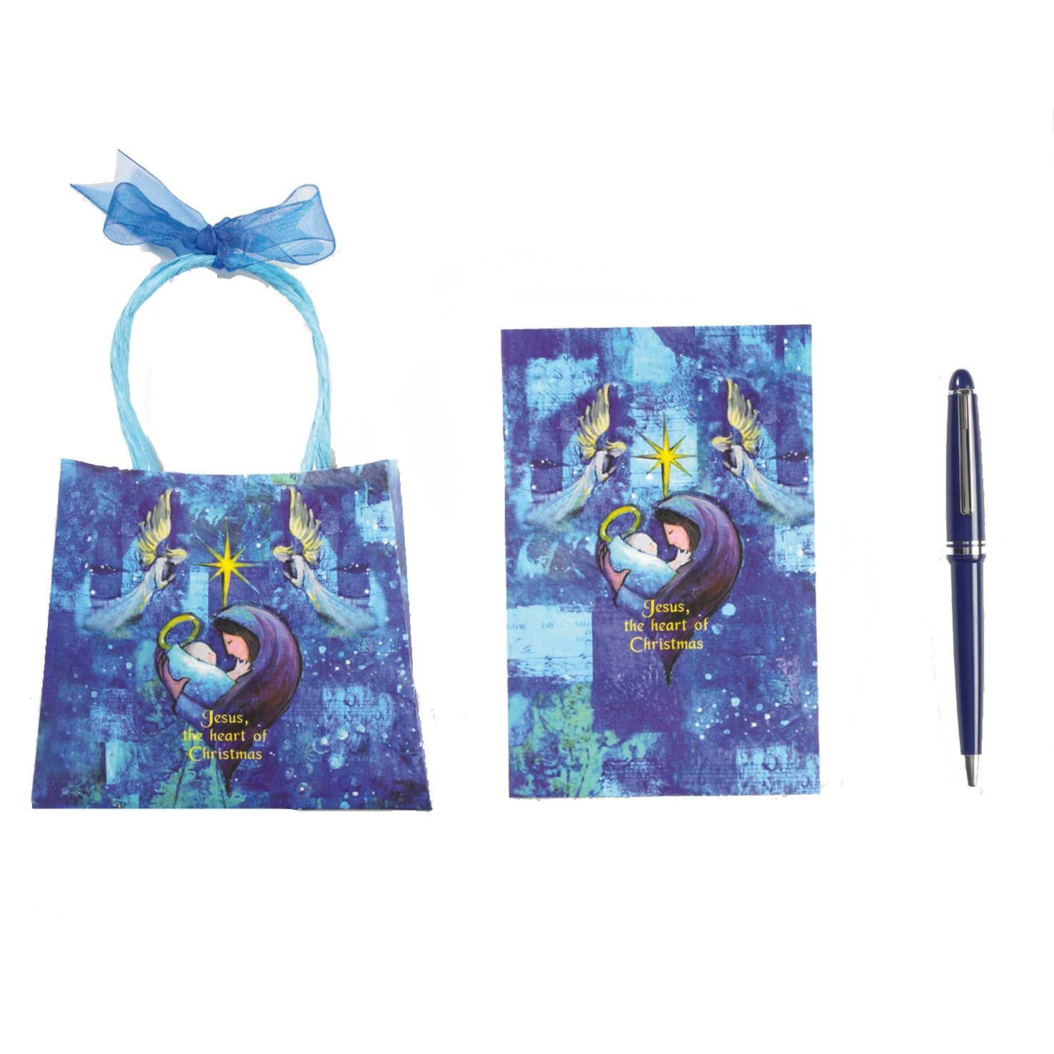 Pen & Stationery Set - Jesus The Heart of Christmas