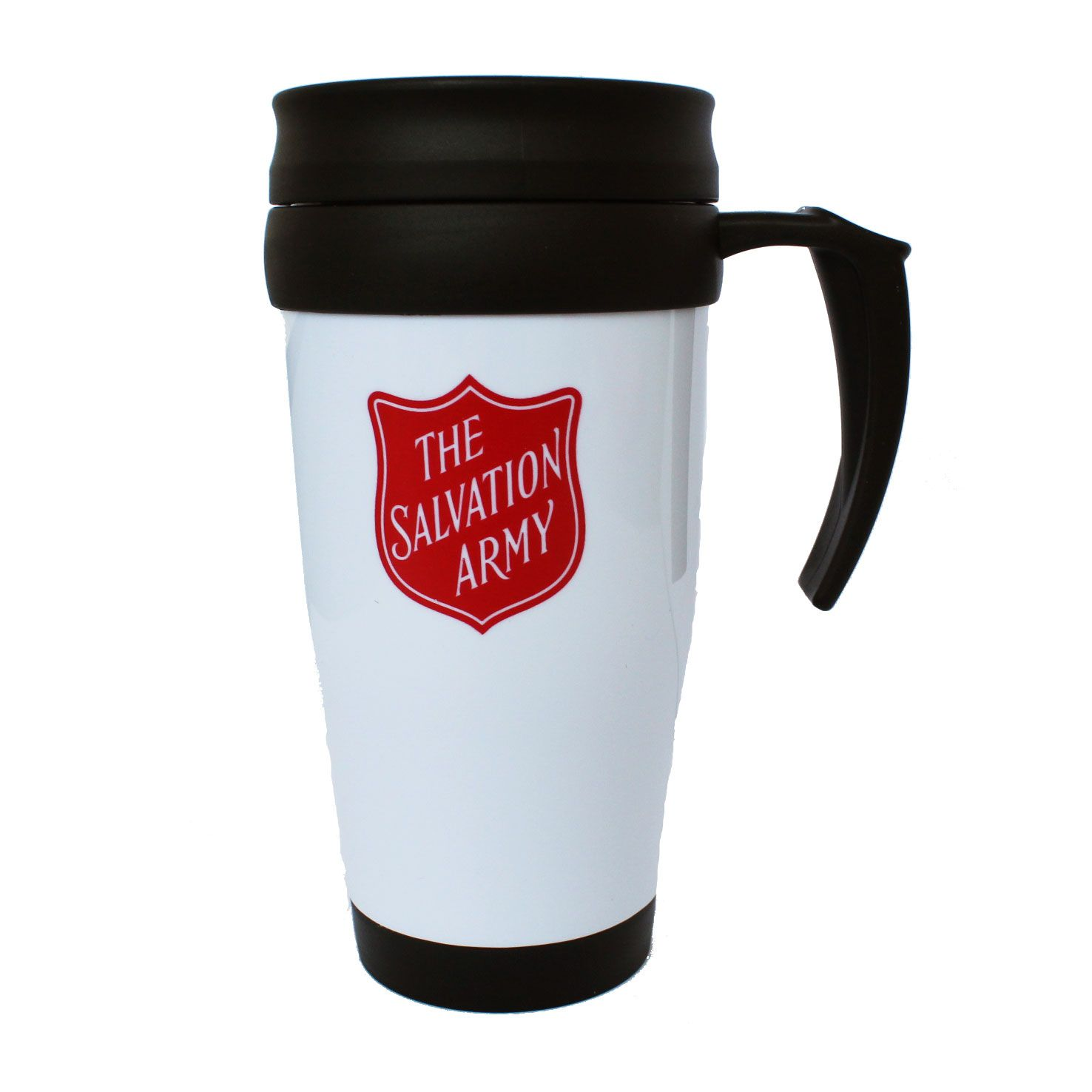 Red Shield Travel Mug