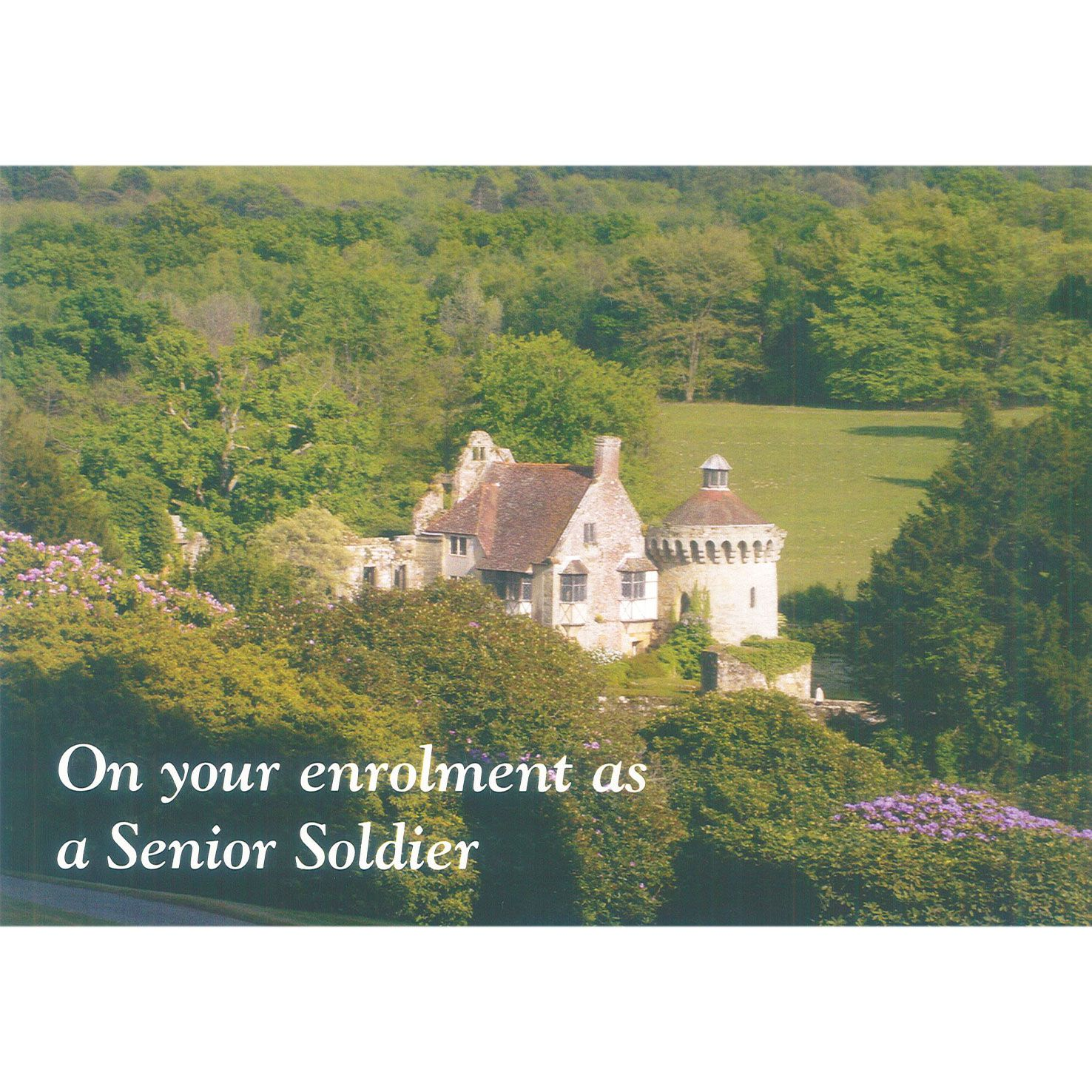 Senior Soldier Card - House