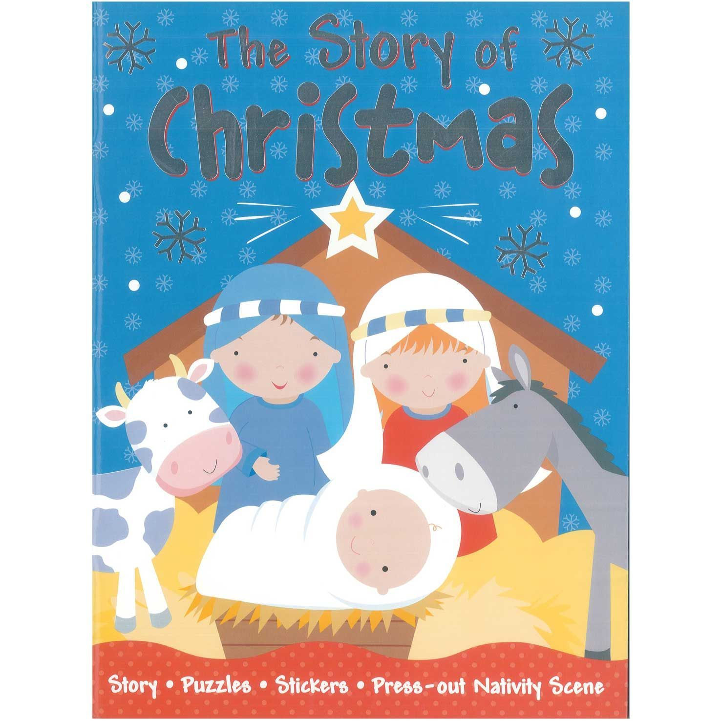 The Story of Christmas Sticker Book