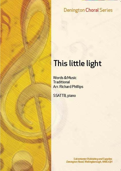 THIS LITTLE LIGHT - SSATTB, Piano
