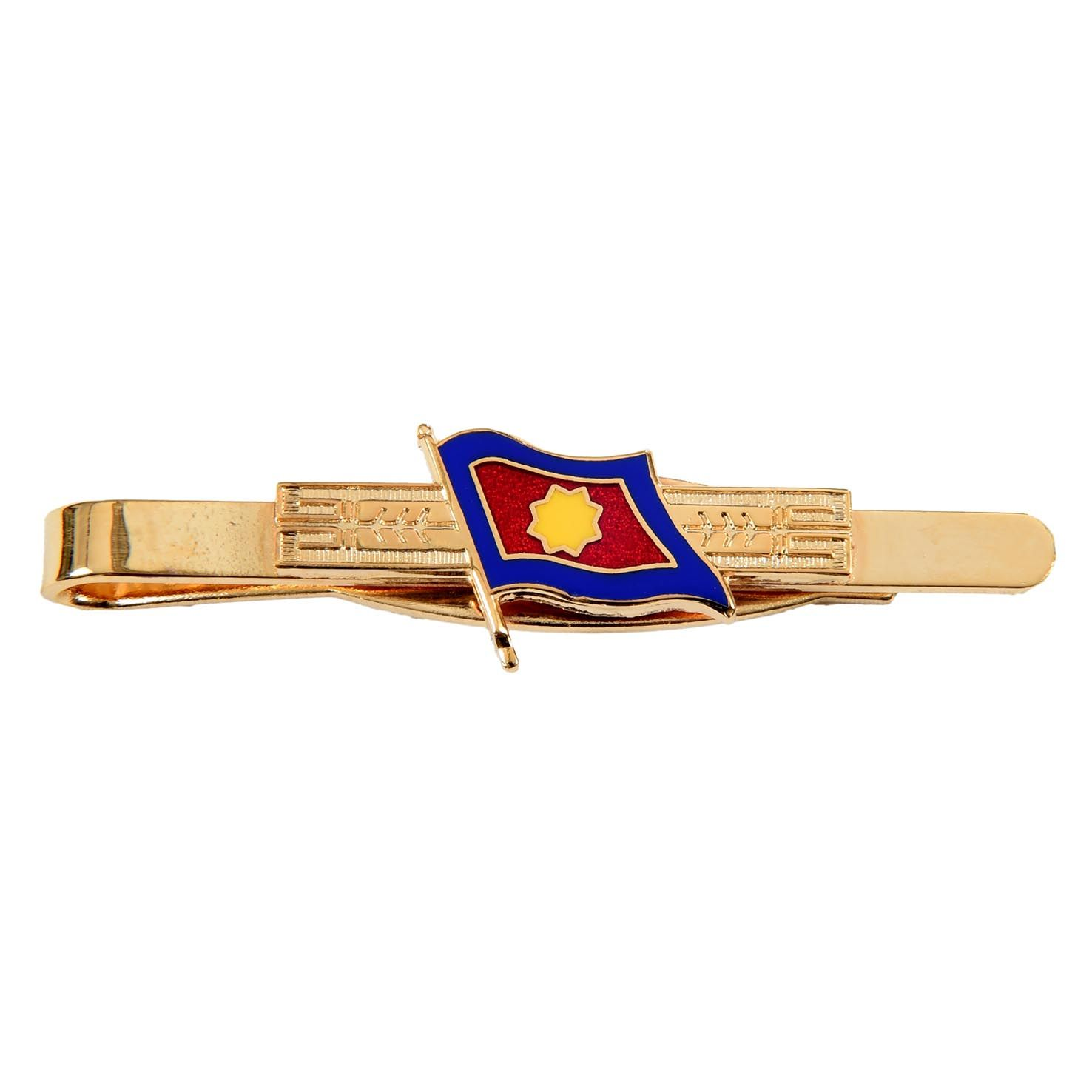 Tie Clip with Flag