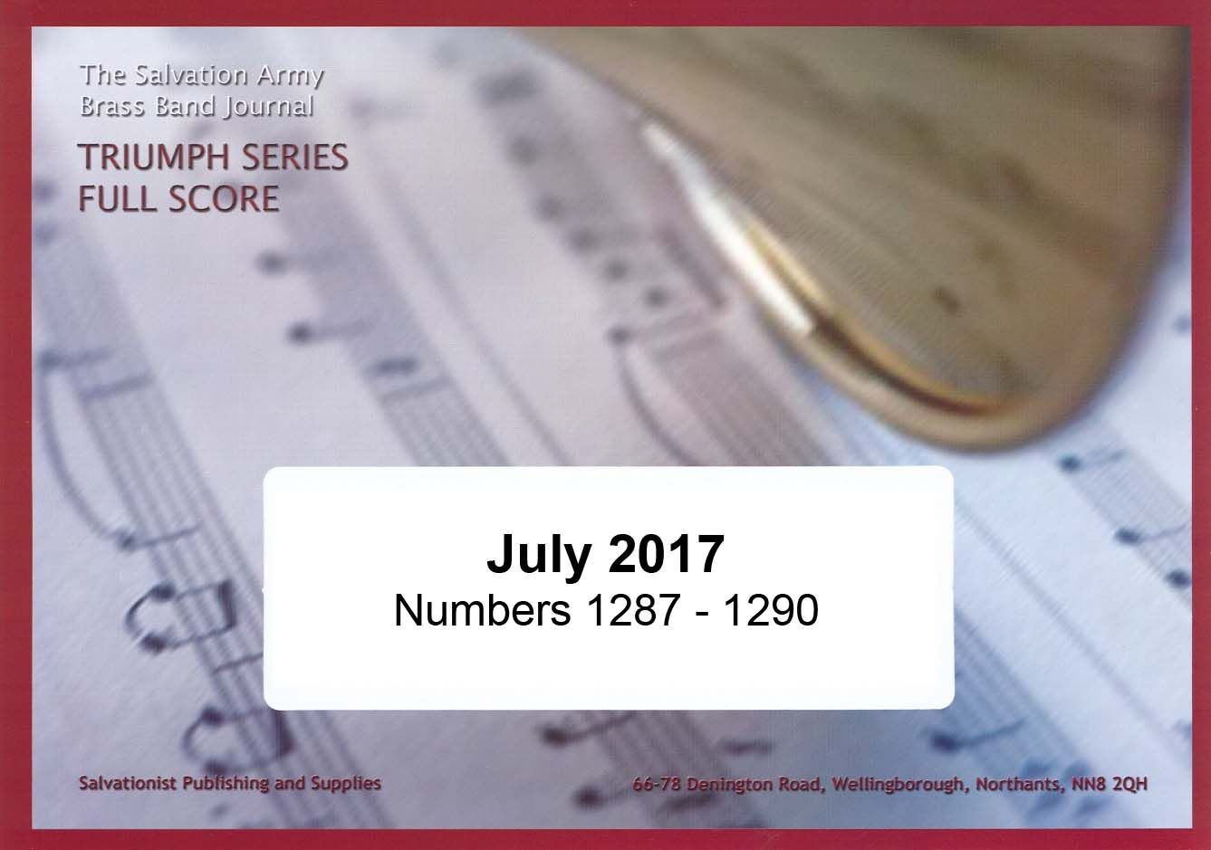 Triumph Series Band Journal July 2017 Numbers 1287-1290