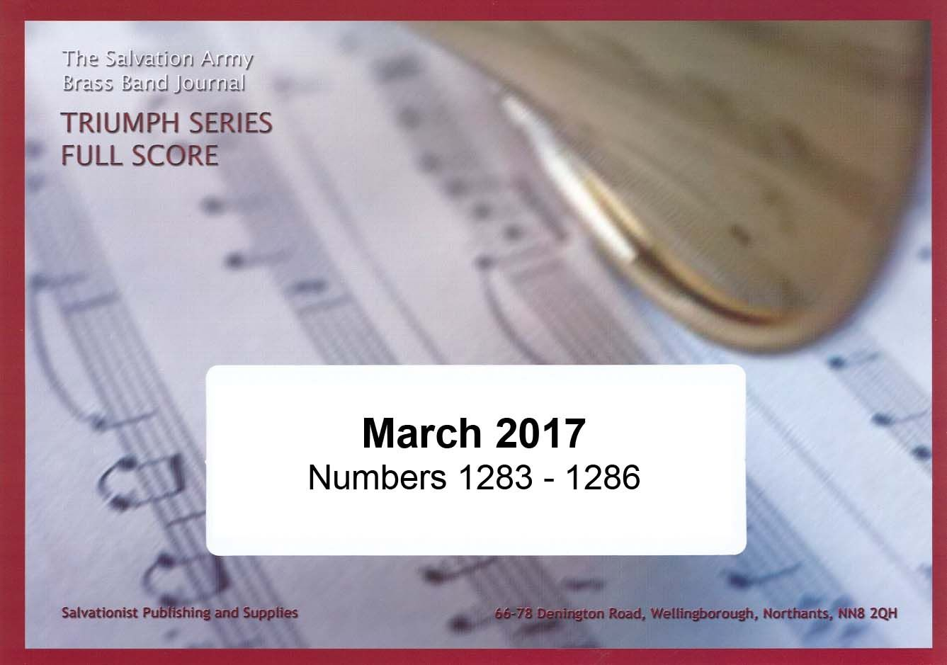 Triumph Series Band Journal March 2017 Numbers 1283-1286