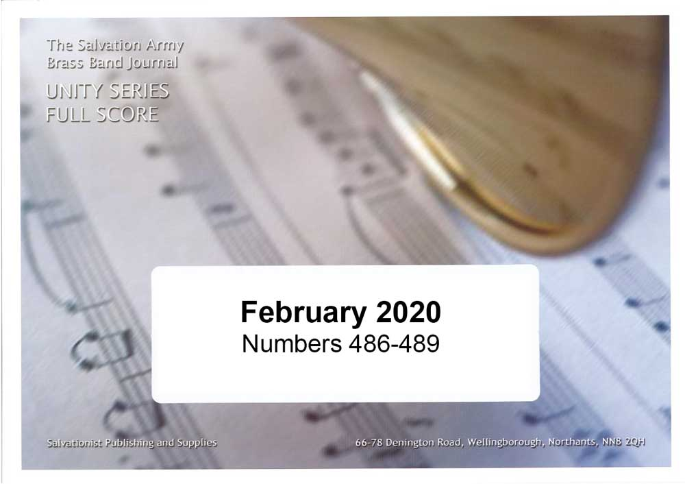 Unity Series Band Journal February 2020 - Numbers 486 - 489