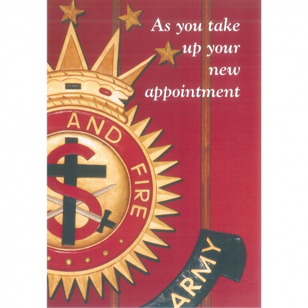 New Appointment Card - Crest