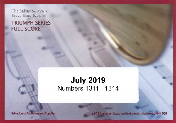 Triumph Series Band Journal July 2019 Numbers 1311 - 1314