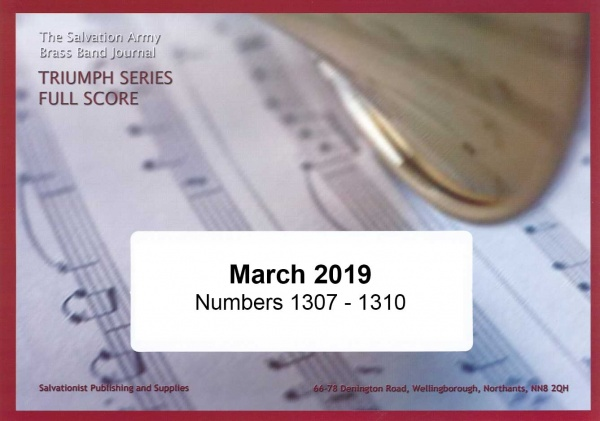 Triumph Series Band Journal  March 2019 Numbers 1307 - 1310