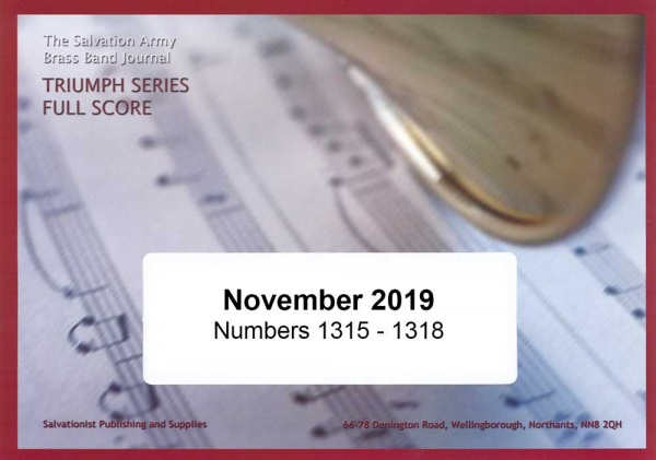 Triumph Series Band Journal November 2019 Numbers 1315 - 1318