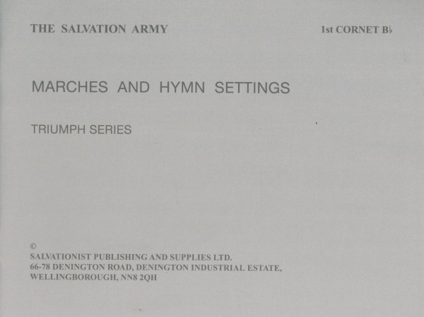 Triumph Series Marches and Hymn Settings