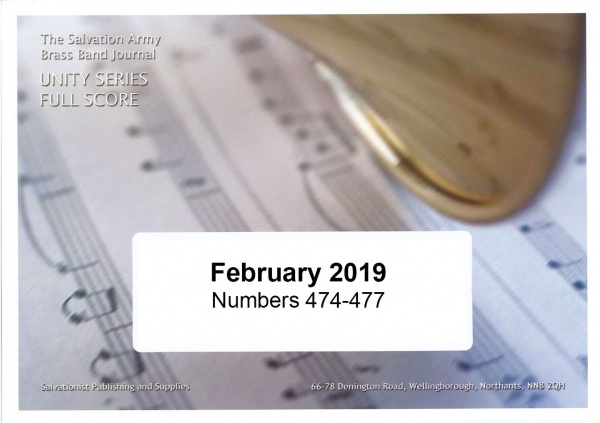 Unity Series Band Journal February 2019 - Numbers 474-477